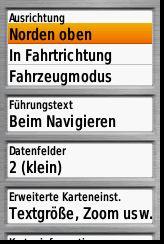 GPSMAP62_Menü