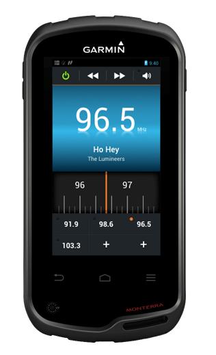 Radio-App im Monterra